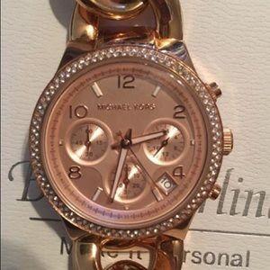 Michael Kors Rose Gold Parker Watch
